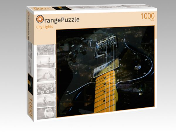 """Puzzle Motiv """"City Lights"""" - Puzzle-Schachtel zu 1000 Teile Puzzle"""