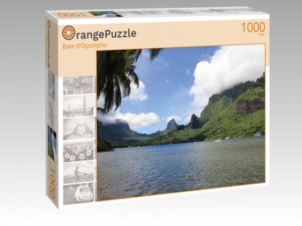 """Puzzle Motiv """"Baie d'Opunohu"""" - Puzzle-Schachtel zu 1000 Teile Puzzle"""