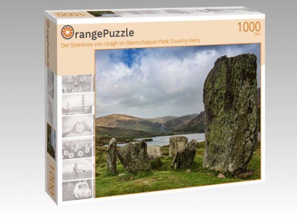 """Puzzle Motiv """"Der Steinkreis von Uragh im Gleninchaquin Park; Country Kerry"""" - Puzzle-Schachtel zu 1000 Teile Puzzle"""