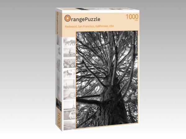 """Puzzle Motiv """"Redwood, San Francisco, Kalifornien, USA"""" - Puzzle-Schachtel zu 1000 Teile Puzzle"""