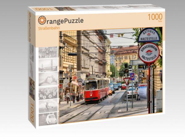 """Puzzle Motiv """"Straßenbahn"""" - Puzzle-Schachtel zu 1000 Teile Puzzle"""