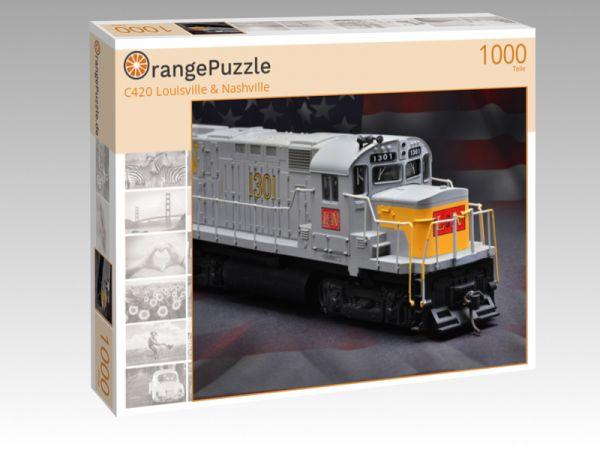 """Puzzle Motiv """"C420 Louisville & Nashville"""" - Puzzle-Schachtel zu 1000 Teile Puzzle"""