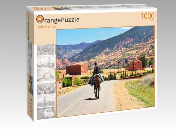 """Puzzle Motiv """"Hohen Atlas"""" - Puzzle-Schachtel zu 1000 Teile Puzzle"""
