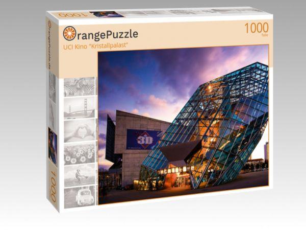 "Puzzle Motiv ""UCI Kino ""Kristallpalast"""" - Puzzle-Schachtel zu 1000 Teile Puzzle"