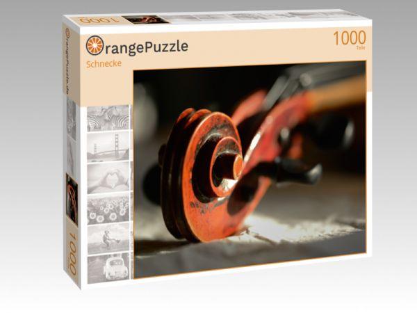 "Puzzle Motiv ""Schnecke"" - Puzzle-Schachtel zu 1000 Teile Puzzle"