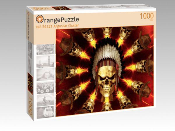 """Puzzle Motiv """"NG 56321 Argussar Cluster"""" - Puzzle-Schachtel zu 1000 Teile Puzzle"""