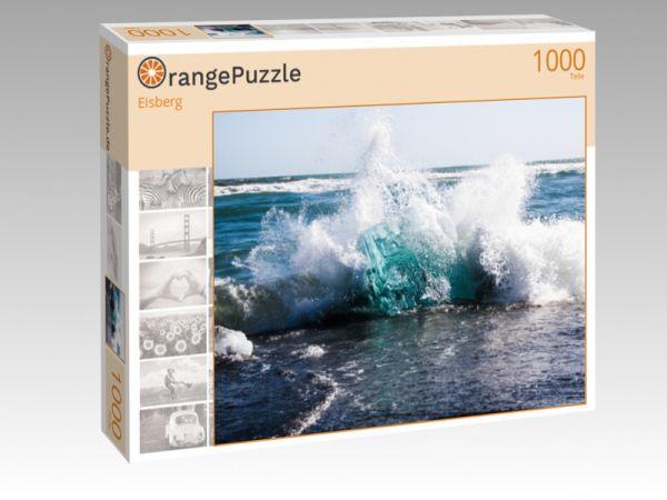 """Puzzle Motiv """"Eisberg"""" - Puzzle-Schachtel zu 1000 Teile Puzzle"""
