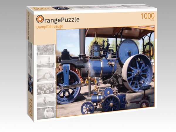 """Puzzle Motiv """"Dampffahrzeuge"""" - Puzzle-Schachtel zu 1000 Teile Puzzle"""