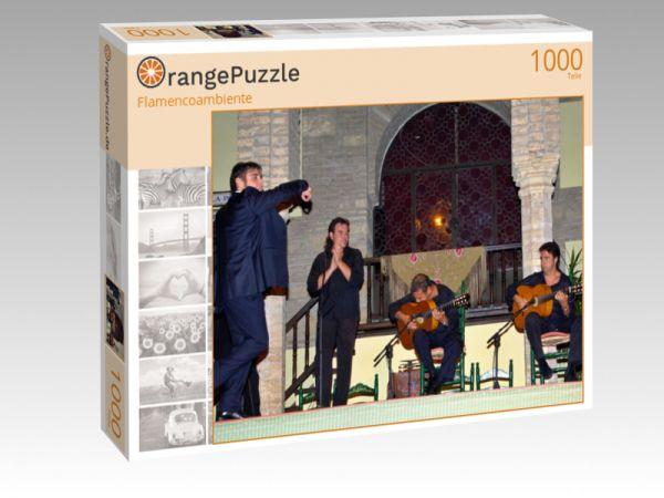 """Puzzle Motiv """"Flamencoambiente"""" - Puzzle-Schachtel zu 1000 Teile Puzzle"""