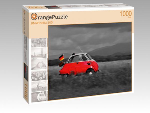 "Puzzle Motiv ""BMW Isetta 300"" - Puzzle-Schachtel zu 1000 Teile Puzzle"