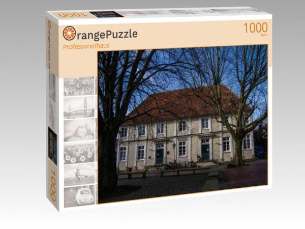 "Puzzle Motiv ""Professorenhaus"" - Puzzle-Schachtel zu 1000 Teile Puzzle"