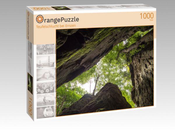 """Puzzle Motiv """"Teufelschlucht bei Ernzen"""" - Puzzle-Schachtel zu 1000 Teile Puzzle"""