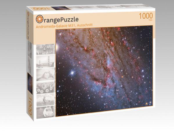 "Puzzle Motiv ""Andromeda-Galaxie M31, Ausschnitt"" - Puzzle-Schachtel zu 1000 Teile Puzzle"