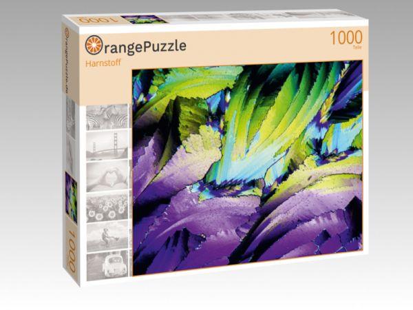 """Puzzle Motiv """"Harnstoff"""" - Puzzle-Schachtel zu 1000 Teile Puzzle"""
