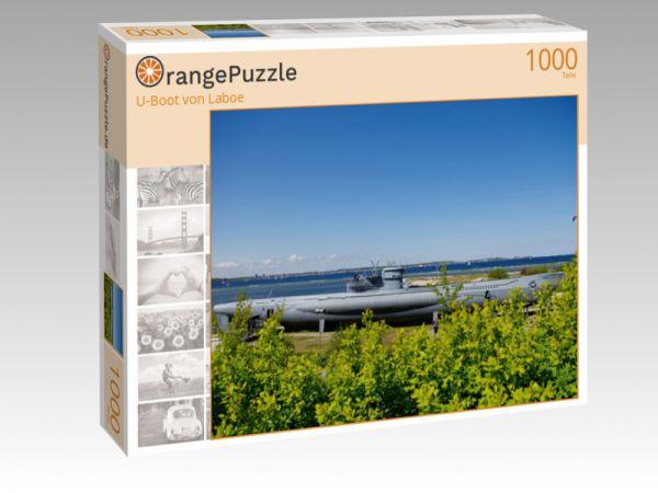 "Puzzle Motiv ""U-Boot von Laboe"" - Puzzle-Schachtel zu 1000 Teile Puzzle"