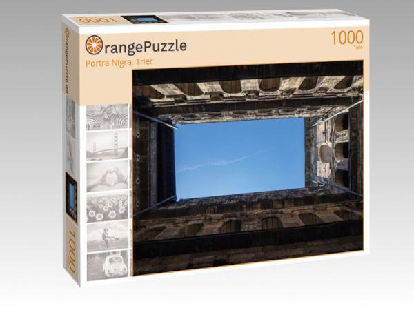 """Puzzle Motiv """"Portra Nigra, Trier"""" - Puzzle-Schachtel zu 1000 Teile Puzzle"""