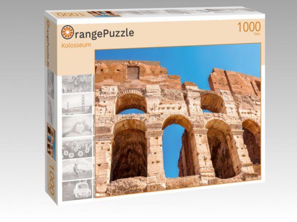 """Puzzle Motiv """"Kolosseum"""" - Puzzle-Schachtel zu 1000 Teile Puzzle"""