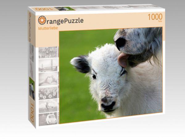 "Puzzle Motiv ""Mutterliebe"" - Puzzle-Schachtel zu 1000 Teile Puzzle"