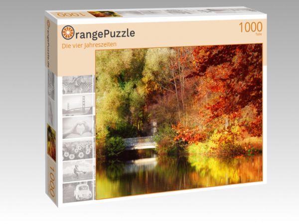 """Puzzle Motiv """"Die vier Jahreszeiten"""" - Puzzle-Schachtel zu 1000 Teile Puzzle"""