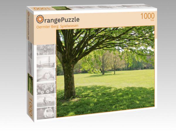 """Puzzle Motiv """"Oermter Berg  Spielwiesen"""" - Puzzle-Schachtel zu 1000 Teile Puzzle"""