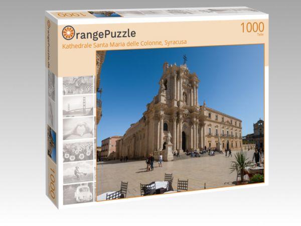 """Puzzle Motiv """"Kathedrale Santa Maria delle Colonne, Syracusa"""" - Puzzle-Schachtel zu 1000 Teile Puzzle"""