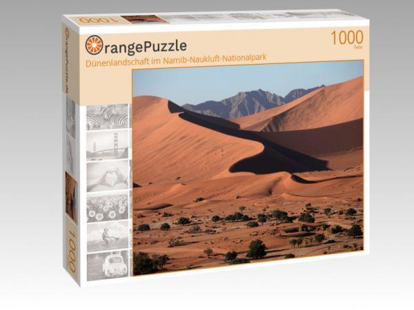 """Puzzle Motiv """"Dünenlandschaft im Namib-Naukluft-Nationalpark"""" - Puzzle-Schachtel zu 1000 Teile Puzzle"""