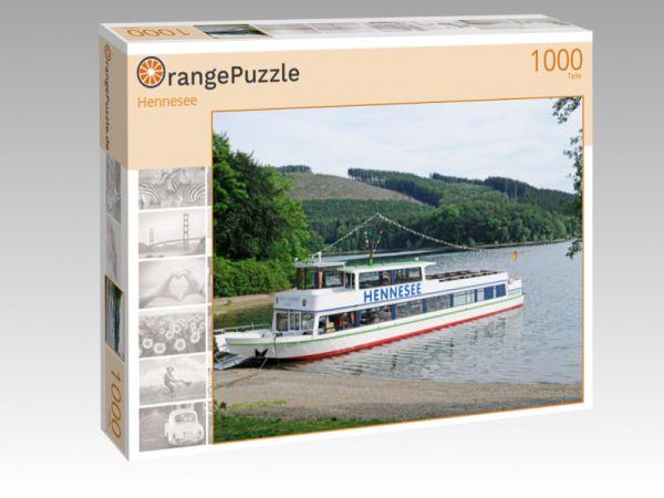 """Puzzle Motiv """"Hennesee"""" - Puzzle-Schachtel zu 1000 Teile Puzzle"""