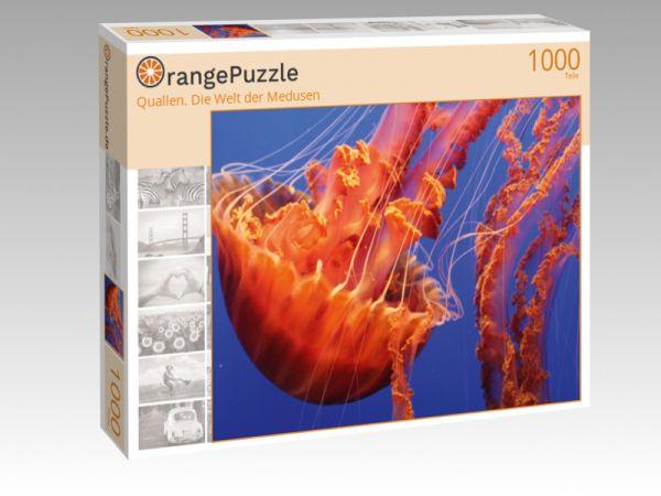 """Puzzle Motiv """"Quallen. Die Welt der Medusen"""" - Puzzle-Schachtel zu 1000 Teile Puzzle"""