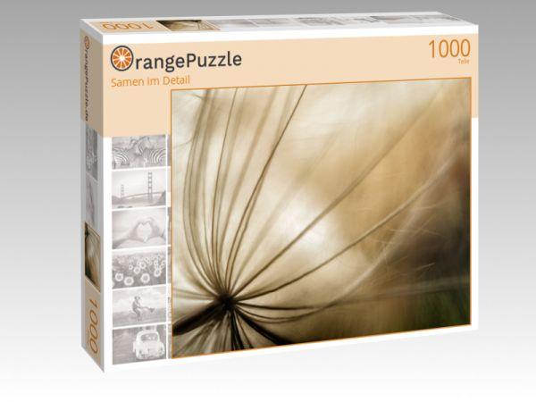 "Puzzle Motiv ""Samen im Detail"" - Puzzle-Schachtel zu 1000 Teile Puzzle"