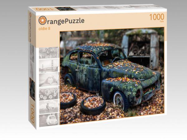 """Puzzle Motiv """"oldie 8"""" - Puzzle-Schachtel zu 1000 Teile Puzzle"""