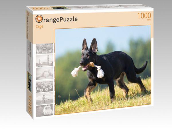 """Puzzle Motiv """"Cage"""" - Puzzle-Schachtel zu 1000 Teile Puzzle"""