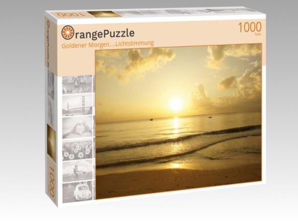 """Puzzle Motiv """"Goldener Morgen....Lichtstimmung"""" - Puzzle-Schachtel zu 1000 Teile Puzzle"""