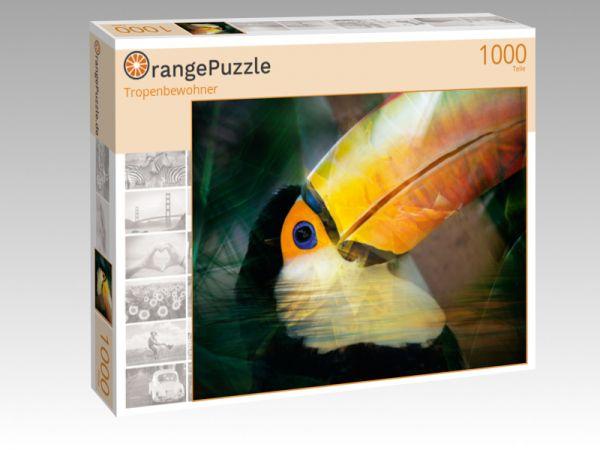 "Puzzle Motiv ""Tropenbewohner"" - Puzzle-Schachtel zu 1000 Teile Puzzle"