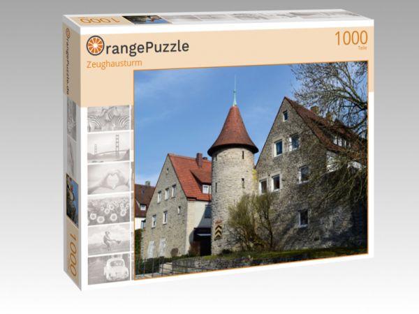 """Puzzle Motiv """"Zeughausturm"""" - Puzzle-Schachtel zu 1000 Teile Puzzle"""