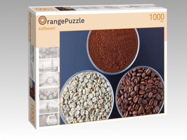 "Puzzle Motiv ""Kaffeezeit"" - Puzzle-Schachtel zu 1000 Teile Puzzle"