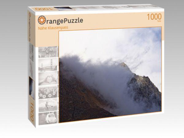 """Puzzle Motiv """"Nähe Klausenpass"""" - Puzzle-Schachtel zu 1000 Teile Puzzle"""