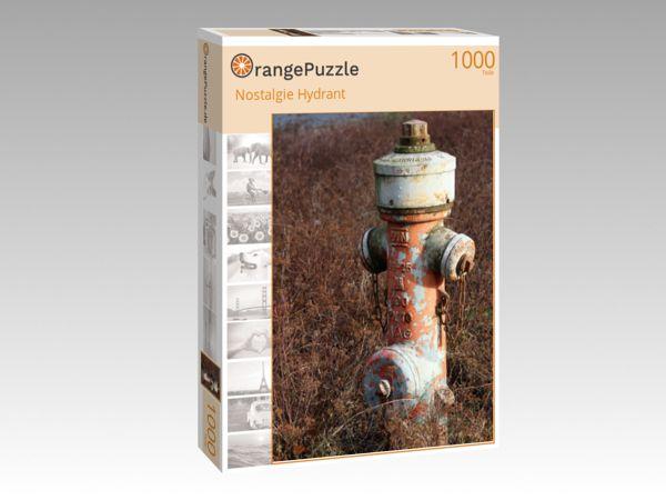 """Puzzle Motiv """"Nostalgie Hydrant"""" - Puzzle-Schachtel zu 1000 Teile Puzzle"""