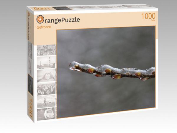 """Puzzle Motiv """"Gefroren"""" - Puzzle-Schachtel zu 1000 Teile Puzzle"""