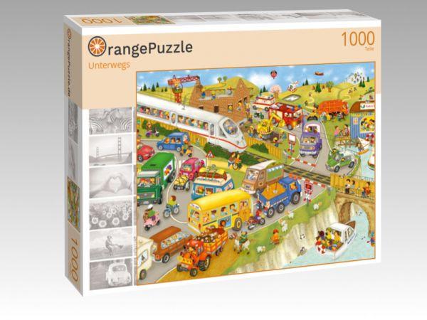 """Puzzle Motiv """"Unterwegs"""" - Puzzle-Schachtel zu 1000 Teile Puzzle"""