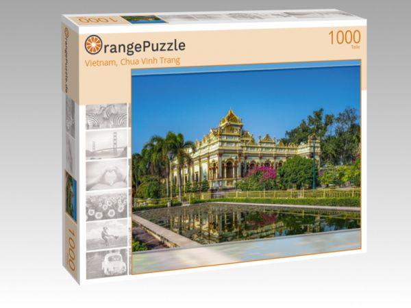 """Puzzle Motiv """"Vietnam, Chua Vinh Trang"""" - Puzzle-Schachtel zu 1000 Teile Puzzle"""
