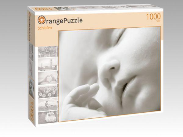 "Puzzle Motiv ""Schlafen"" - Puzzle-Schachtel zu 1000 Teile Puzzle"
