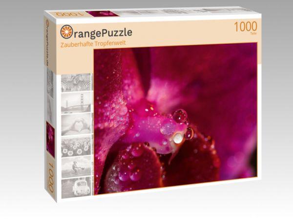 """Puzzle Motiv """"Zauberhafte Tropfenwelt"""" - Puzzle-Schachtel zu 1000 Teile Puzzle"""