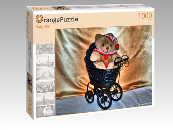 "Puzzle Motiv ""Baby Bär"" - Puzzle-Schachtel zu 1000 Teile Puzzle"