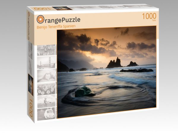 "Puzzle Motiv ""Benijo Teneriffa Spanien"" - Puzzle-Schachtel zu 1000 Teile Puzzle"