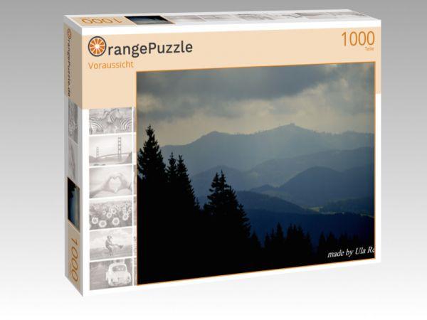 """Puzzle Motiv """"Voraussicht"""" - Puzzle-Schachtel zu 1000 Teile Puzzle"""