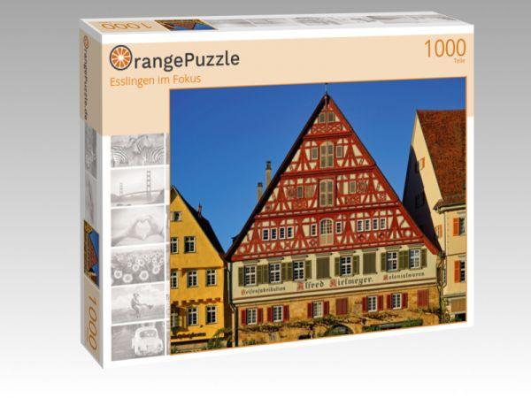"""Puzzle Motiv """"Esslingen im Fokus"""" - Puzzle-Schachtel zu 1000 Teile Puzzle"""