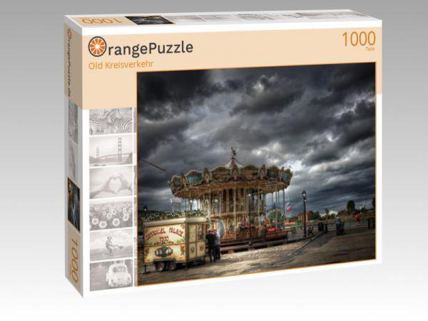 """Puzzle Motiv """"Old Kreisverkehr"""" - Puzzle-Schachtel zu 1000 Teile Puzzle"""