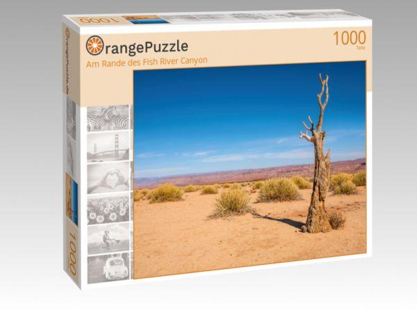 """Puzzle Motiv """"Am Rande des Fish River Canyon"""" - Puzzle-Schachtel zu 1000 Teile Puzzle"""