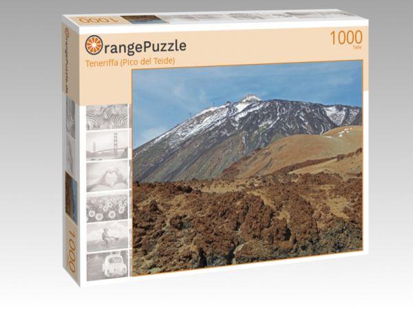 """Puzzle Motiv """"Teneriffa (Pico del Teide)"""" - Puzzle-Schachtel zu 1000 Teile Puzzle"""