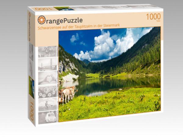 """Puzzle Motiv """"Schwarzensee auf der Tauplitzalm in der Steiermark"""" - Puzzle-Schachtel zu 1000 Teile Puzzle"""